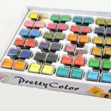 Pecsételő párnák különböző színekben,  játéknyomdához  az ár 1 db ra vonatkozik