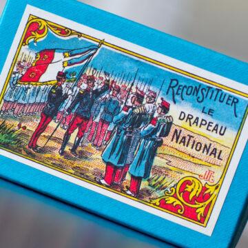 Francia zászló  türelemjáték