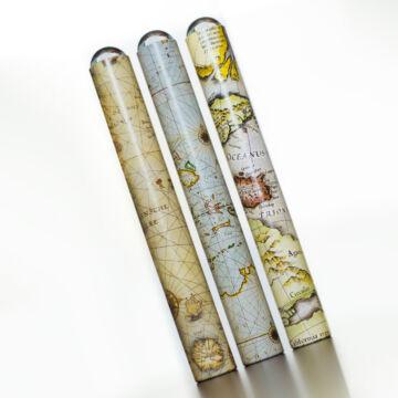 Oktaszkóp térképes grafikával