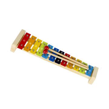 Xylofon   -  fa talpon, 12 fém hanggal