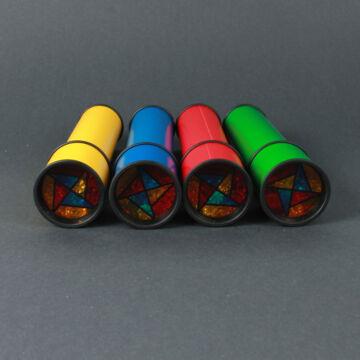 Kaleidoszkóp forgatható nézőkével  4 színben