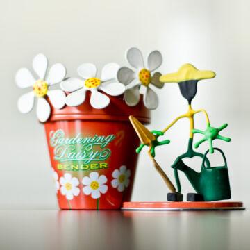 Kertész  mágneses dótfigura