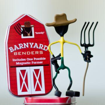 Farmer - mágneses drótfigura
