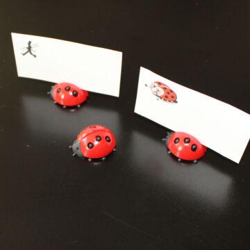 Katicás ültetőkártya-tartó - 3 db
