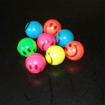 Small Smiley ball set -  4 pcs