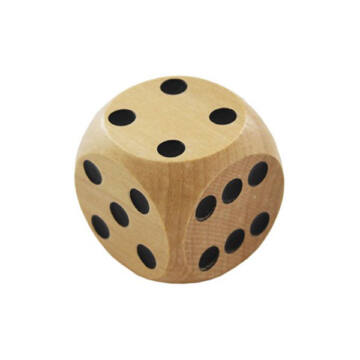 Goliath wooden dice 4cm