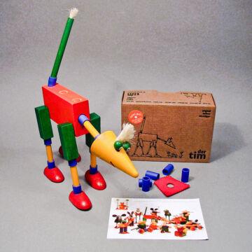 Tim a Kutya faépítő játék szett   minősített játék