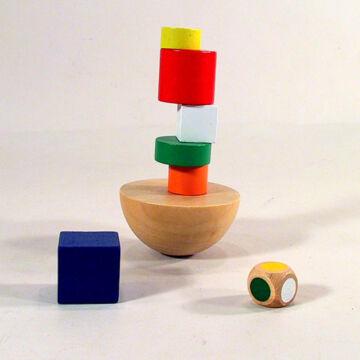 Balansz játék - fából