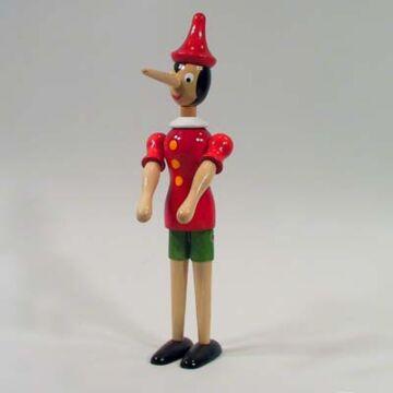 Pinokkió fabábú 30 cm   most akcióban