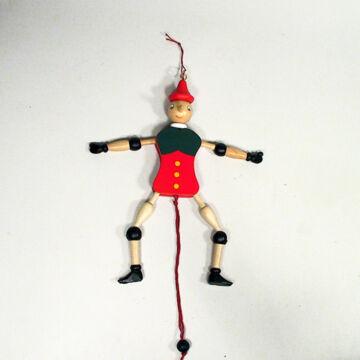 Pinocchio  hampelman fából