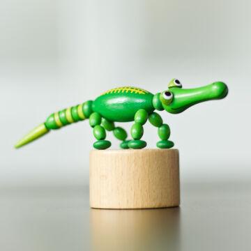 Krokodil  alsórugós fajáték