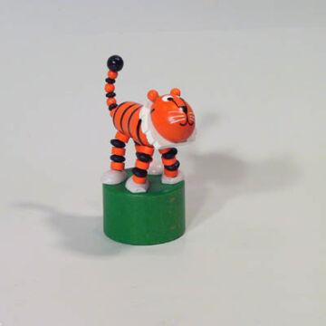 Tigris   - minőségi alsórugós fajáték