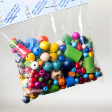 Gyöngyfűző - Fagyöngyök közepes csomag 70g