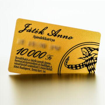 JATEKANNO KARTYA10000