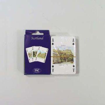 Franciakártya - Skócia tájképeivel díszítve