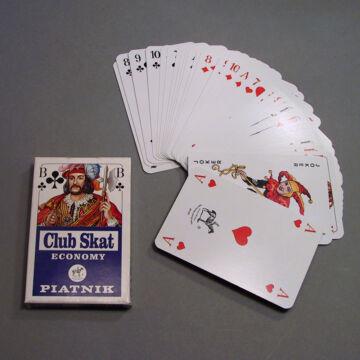 CLUB SKAT ECONOMY - kártya pakli
