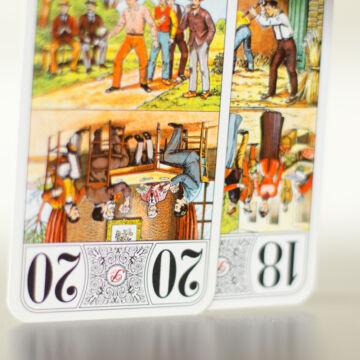TAROT  kártya 1824es hasonmás