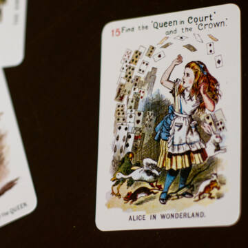 Alice in Wonderland card set
