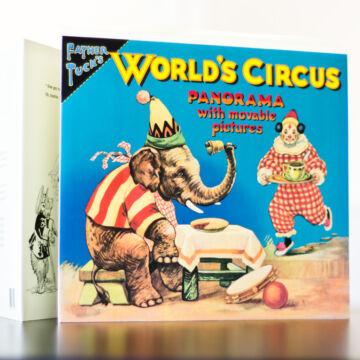 Cirkusz interaktív panoráma könyv  angol