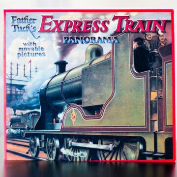 Vonat  panoráma könyv