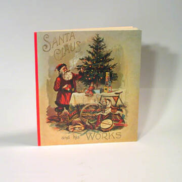 Santa Claus in works - reprint book in English
