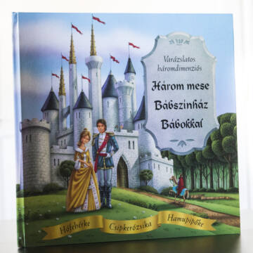 Három mese - Bábszínház könyv bábokkal
