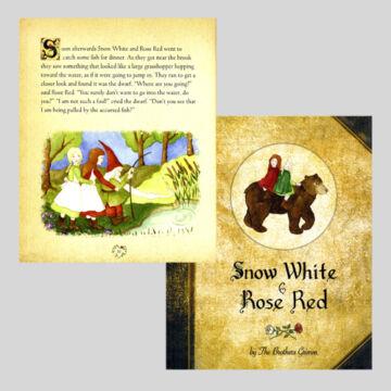 Piroska és Hófehér - Grimm mese angolul