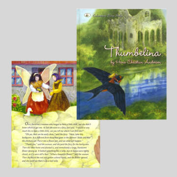 THUMBELINA tale in English