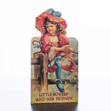 LITTLE BO PEEP AND HER FRIENDS  angol nyelvű mini képeskönyv,mini történetek