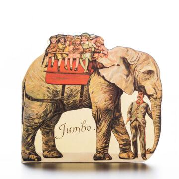 JUMBO az elefánt  apró mese, mini könyv