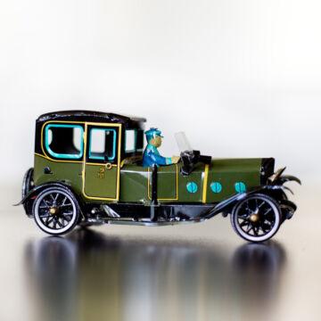 Zöld LIMOUSINE 1923 hasonmás lemezjáték 18 cm