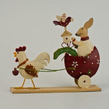 BORDÓ NYUSZIFOGAT  húsvéti dekor