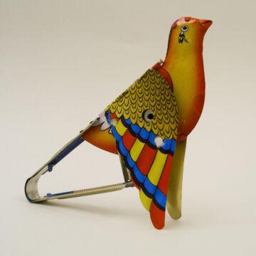 Sípoló madár - hangkeltő játék lemezből