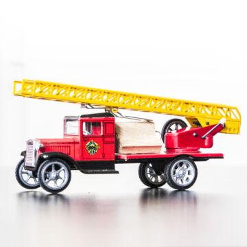 Tűzoltóautó HAWKEY 1924-es modell hasonmása  1:32