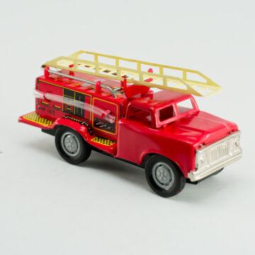 Tűzoltóautó kihúzható létrával, tömlővel 15cm
