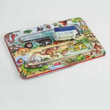 Állatkerti vonat - tálcás lemezjáték