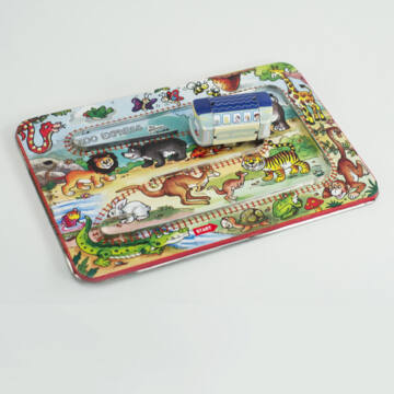 Állatkerti vonat  tálcás lemezjáték