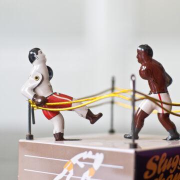 Boxolók a ringben - hasonmás lemezjáték