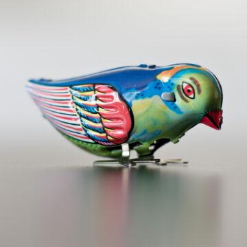 A boldogság kék madara - felhúzható lemezjáték