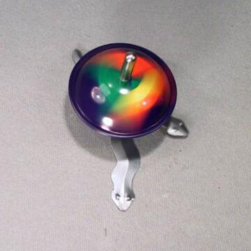 Mágneses kígyóbűvölő  pörgettyű lemezből