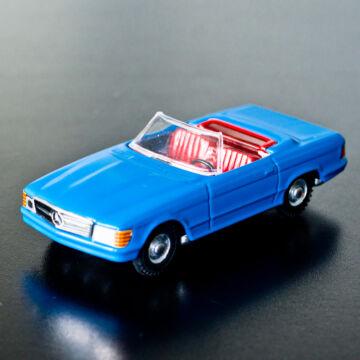 Kék Mercedes Cabrio 350 SL  modellautó 1:43