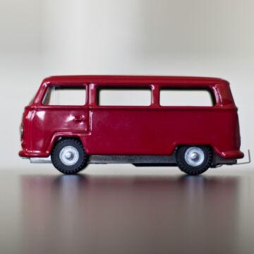 VW Mikrobusz - modellautó - cseh gyártmány