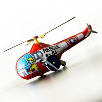 Mentö - helikopter  lemezjáték ( kicsi )