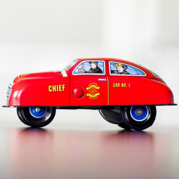 Tűzoltóautó  Parancsnoki kocsi lemezjáték
