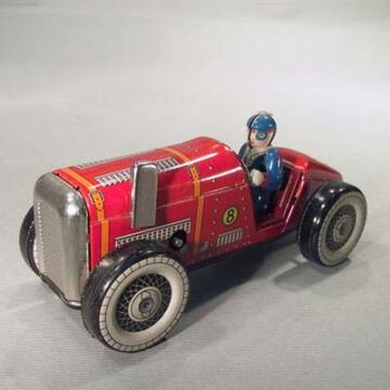 Bugatti - lemez versenyautó