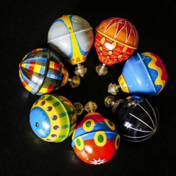 Pörgettyű légballon lemezjáték