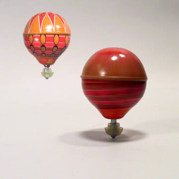 Légballon pörgettyű   lemezből 7 féle