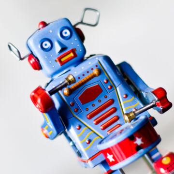 Doboló lemez robot