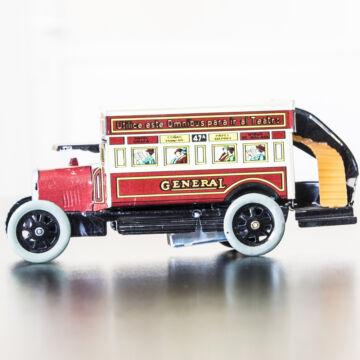 Omnibusz General  Paya hasonmás lemezjáték 18 cm