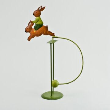 Nyuszi-nyúlon lovagol - fém balansz